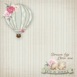 SC-381 It's a Baby 4 - Papel para Scrapbook Dupla Face