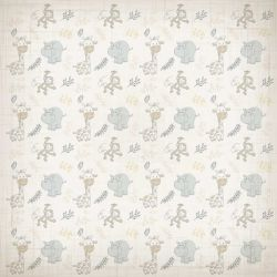 SC-383 It's a Baby 6 - Papel para Scrapbook Dupla Face