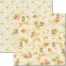 SC-201 Flor do Campo - Papel para Scrapbook Dupla Face