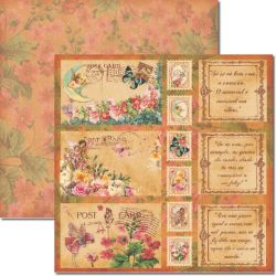 SC-202 Post Card - Papel para Scrapbook Dupla Face
