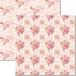 SC-313 Bouquet 3 - Papel para Scrapbook Dupla Face