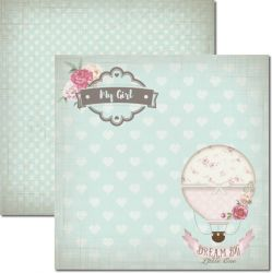 SC-382 It's a Baby 5 - Papel para Scrapbook Dupla Face