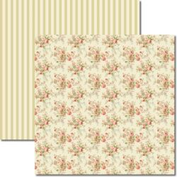 SC-220 Bouquet - Papel para Scrapbook Dupla Face
