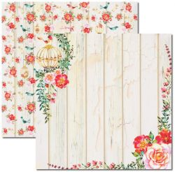 SC-392 Aquarela 3 - Papel para Scrapbook Dupla Face