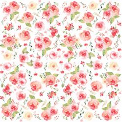 SC-394 Aquarela 5 - Papel para Scrapbook Dupla Face