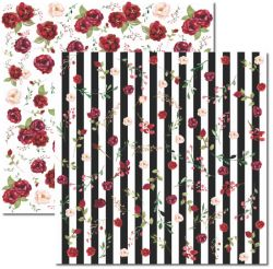 SC-395 Chanel 1 - Papel para Scrapbook Dupla Face