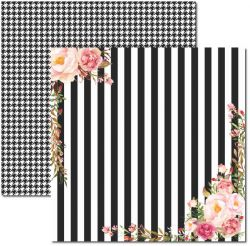 SC-396 Chanel 2 - Papel para Scrapbook Dupla Face