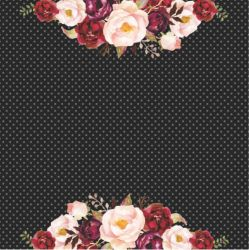 SC-397 Chanel 3 - Papel para Scrapbook Dupla Face