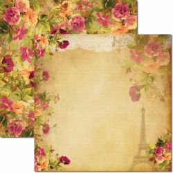 SC-061 Renda - Papel para Scrapbook Dupla Face