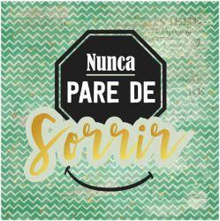 CD-015- Nunca pare de Sorrir - 15x15