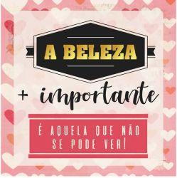 CD-019- A Beleza + importante é aquele que não se pode ver! - 15x15