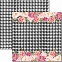 SC-420-Chanel 5 - Papel para Scrapbook Dupla Face
