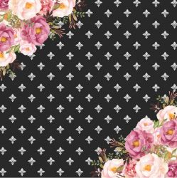 SC-421-Chanel 6 - Papel para Scrapbook Dupla Face