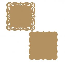LR-812 1 de cada - Aplique Decorativo MDF