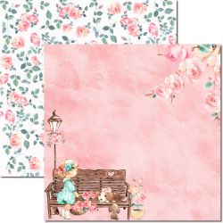 SC-491-Sweet Girl 2 - Papel para Scrapbook Dupla Face