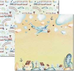 SC-493-My Baby Boy 1 - Papel para Scrapbook Dupla Face