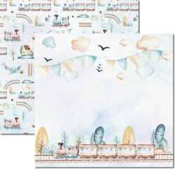 SC-494-My Baby Boy 2 - Papel para Scrapbook Dupla Face