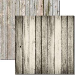 SC-510-Textura Madeira 3 - Papel para Scrapbook Dupla Face