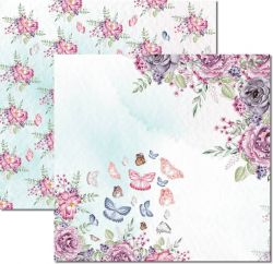 SC531-Butterfly 3 - Papel para Scrapbook Dupla Face