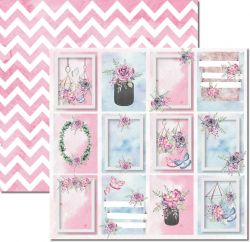 SC-534-Butterfly 6 - Papel para Scrapbook Dupla Face