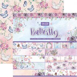 CL-003- Coleção Butterfly - Kit Papel Scrap