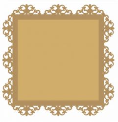 LR-845-1 cada - Aplique Decorativo MDF