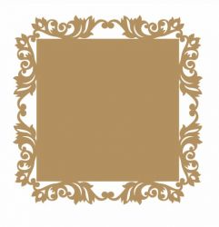 LR-849-2 un. - Aplique Decorativo MDF