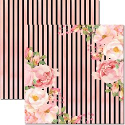 SC-550-Chanel 7 - Papel para Scrapbook Dupla Face