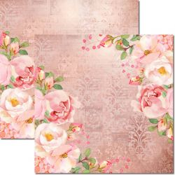SC-553-Chanel 10 - Papel para Scrapbook Dupla Face
