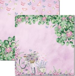 SC-567-Butterfly 7 - Papel para Scrapbook Dupla Face