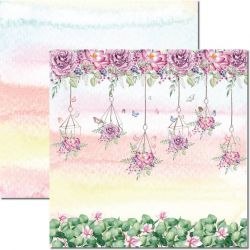 SC-568-Butterfly 8 - Papel para Scrapbook Dupla Face