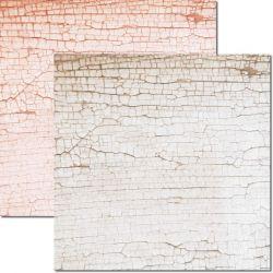 SC-583-Textura-Craquele - Papel para Scrapbook Dupla Face