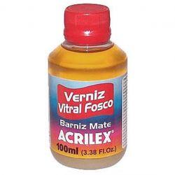 LTC178- Verniz Vitral Fosco 100ml Incolor - Acrilex **