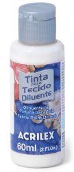LTC411- Diluente para tinta tecido Incolor 60ml - Acrilex **