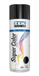 LTK092- Tinta Spray Uso Geral Preto Brilhante - Tek Bond **
