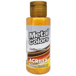 TC276- Metal Colors Dourado Solar 60ml - Acrilex  **