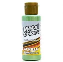 TC369- Metal Colors Verde Musgo 60ml - Acrilex  **