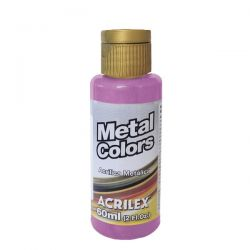 TC487- Metal Colors Rosa 60ml - Acrilex  **