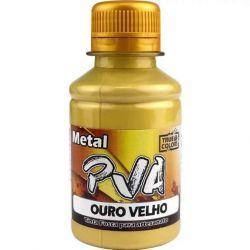Tinta PVA Metal Ouro Velho - True Colors