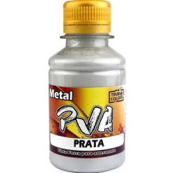 Tinta PVA Metal Prata  - True Colors **