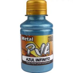 Tinta PVA Metal Azul Infinito - True Colors **