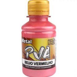 Tinta PVA Metal Beijo Vermelho - True Colors