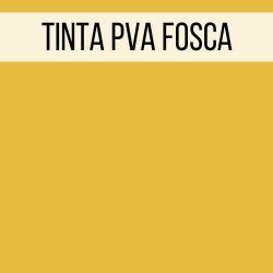 Tinta PVA Fosca Amarelo Da Índia - True Colors **