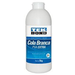 LAB255- Cola Branca PVA 1kilo- Tek Bond - Cola para Artesanato