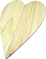 PA-022 Pallet Coração fino  38x26 - Pinus