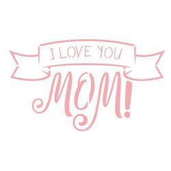 MA-203- Stencil para pintura - Especial dia das Mães