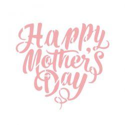 MA-205- Stencil para pintura - Especial dia das Mães