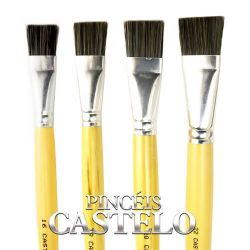 Pincel Chato Nº 541-4- Castelo - LPL032