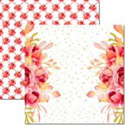 SC-595-Sweet 2 - Papel para Scrapbook Dupla Face