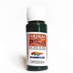 LCO096- Médium Envelhecedor Black Green 60ml - Corfix **